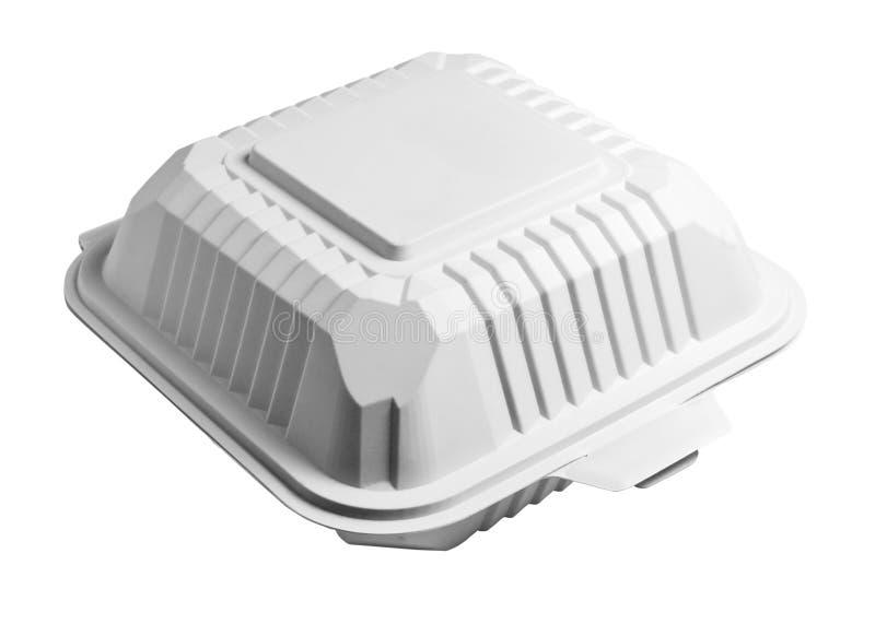 Закрытая коробка бургера иллюстрация вектора