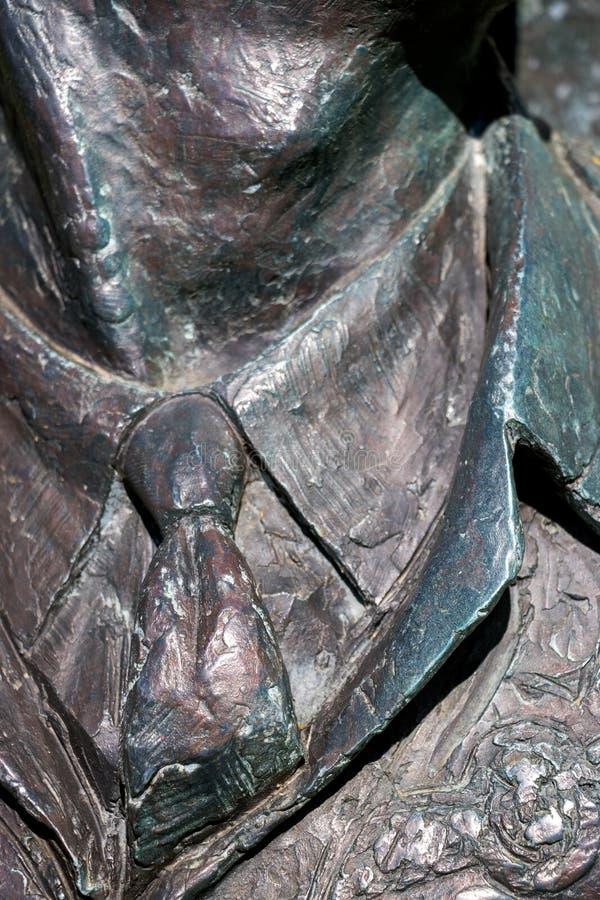 Закрытие мемориала McIndoe в Восточном ГрВместо-Уэст-Суссексе 20 апреля 2020 года стоковое изображение