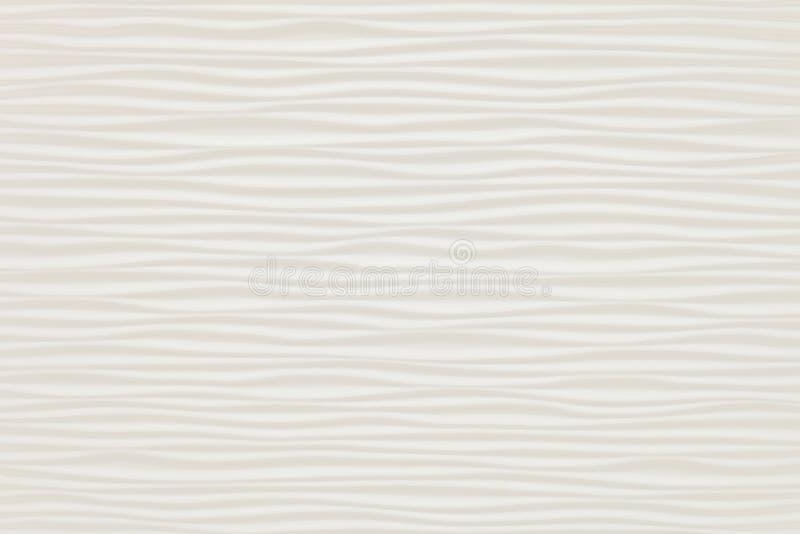 Закрытый вверх горизонтальной текстуры белых абстрактных волн стоковое фото rf
