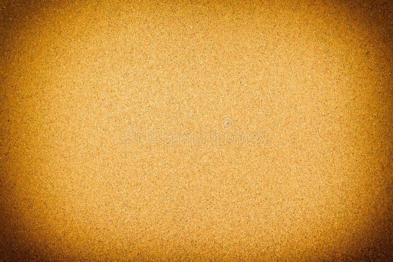 Закрытый вверх коричневой предпосылки текстуры пробковой доски стоковые изображения rf