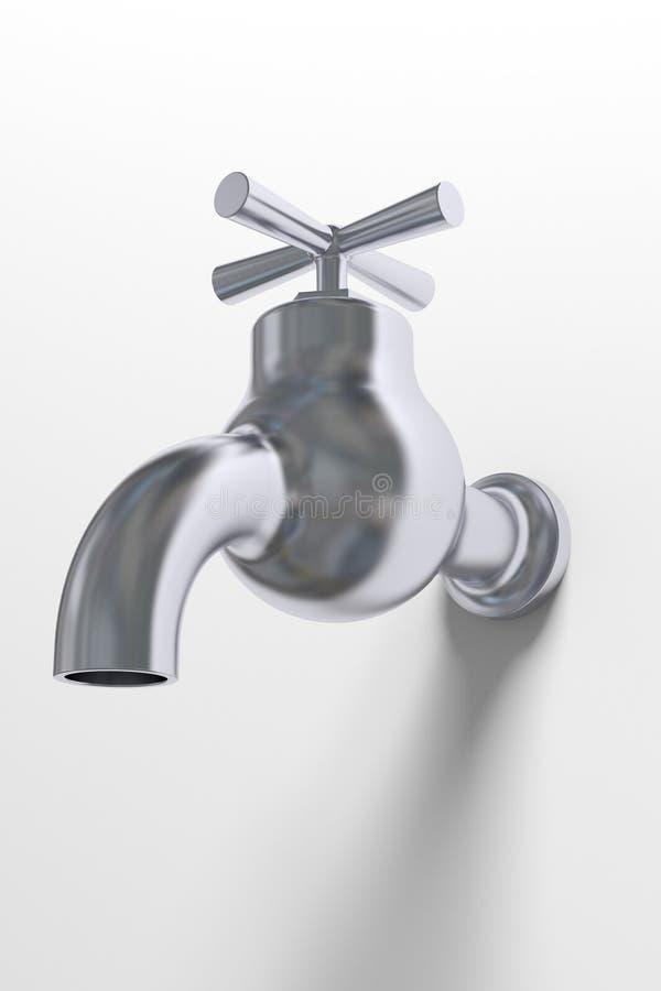 Закрытый водопроводный кран стоковое фото