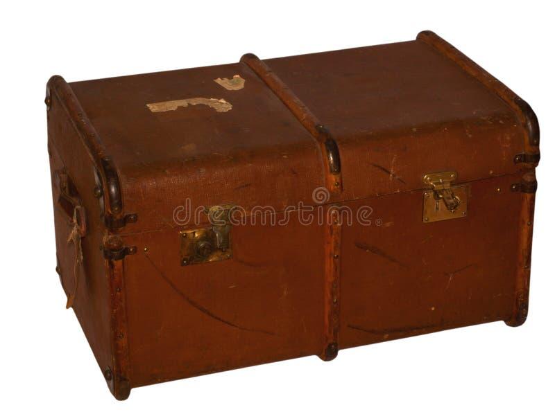 закрытый чемодан стоковое фото