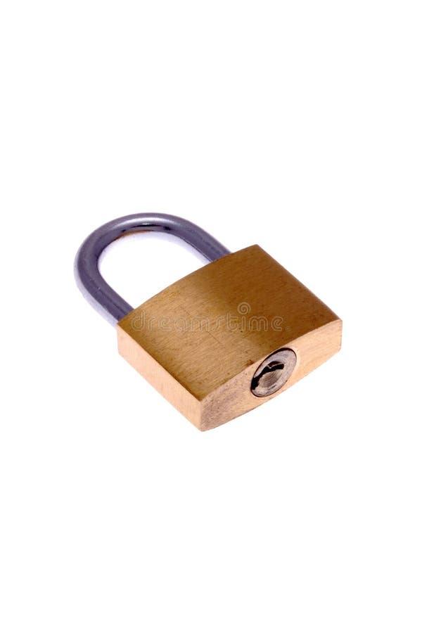 закрытый padlock стоковое фото