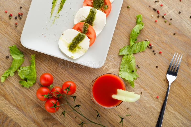 Закуска овощей стоковое изображение rf
