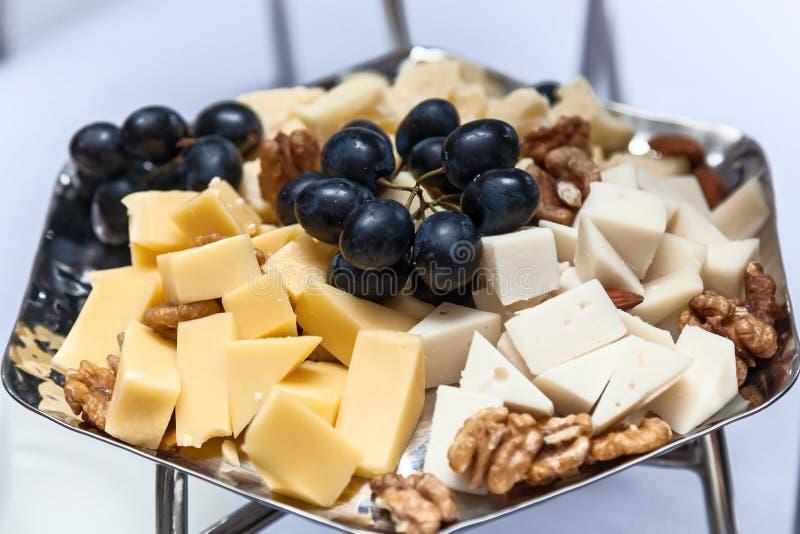 Закуска плиты сыра вкусная стоковые фотографии rf