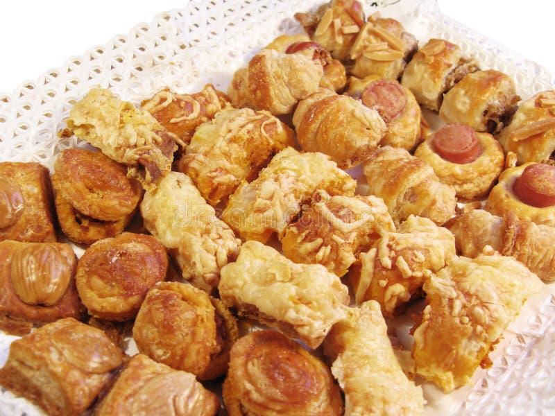 закуска стоковое изображение rf