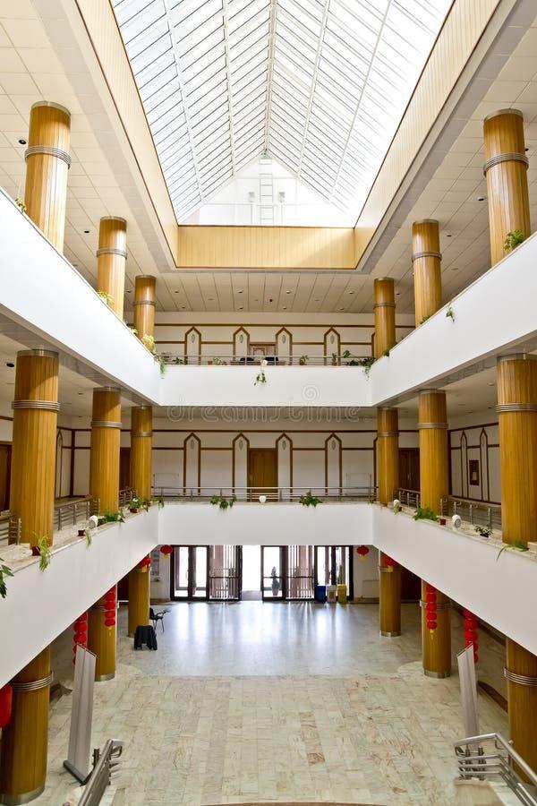 зала входа стоковая фотография rf