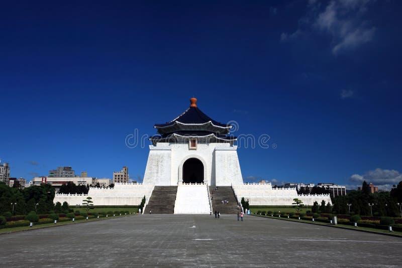 зала мемориальный национальный taipei taiwan народовластия стоковые изображения rf