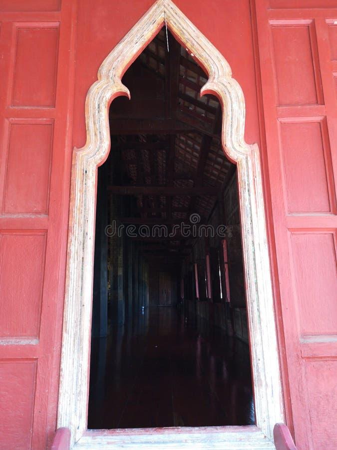 Зала проповеди ворот в монастыре стоковое фото