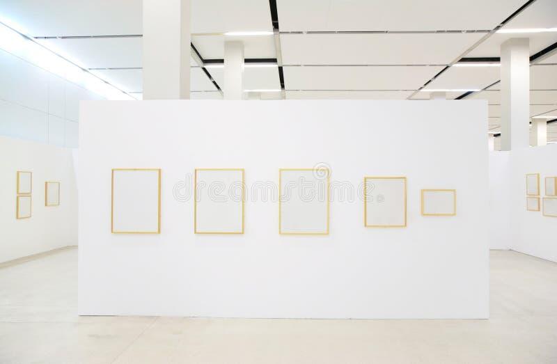 зала рамок выставок стоковые изображения