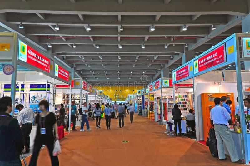 Зала 2011 оборудования кантона справедливая 14.1 стоковое фото