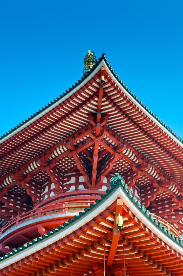 Зала Daitou виска ji Narita san Shinsho, Narita, Chiba, Japa стоковая фотография rf