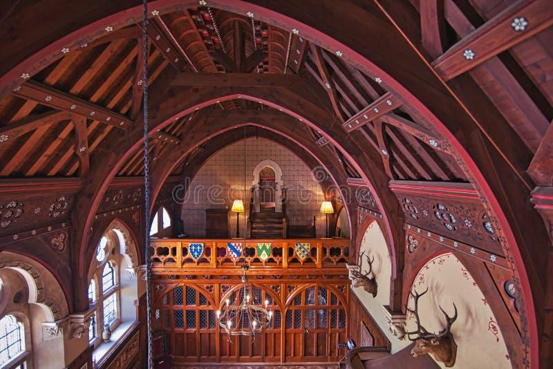 Зала Entery на Knighstheyes стоковое фото