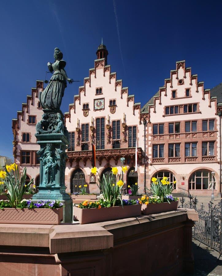 зала frankfurt города стоковые изображения