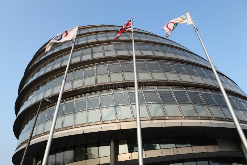 зала london Англии города авторитета большая стоковое фото