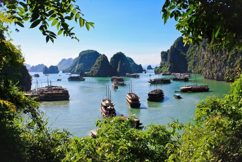 залива ha старь вьетнамец длиной стоковая фотография rf