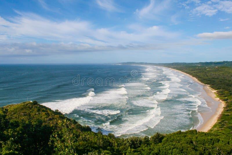 Залив Байрона стоковое изображение rf