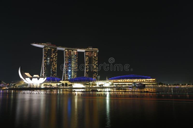 Залив Марины зашкурит Сингапур Стоковое Фото