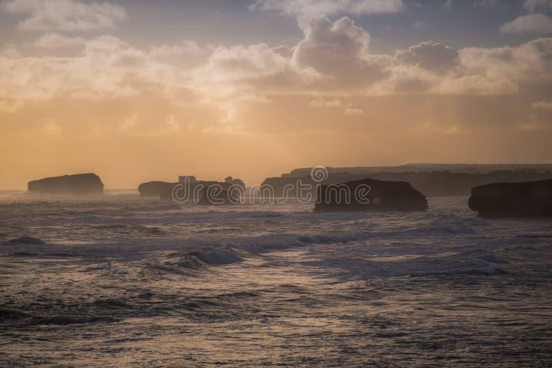 Залив парка острова прибрежного, Peterborough, Виктория стоковая фотография rf