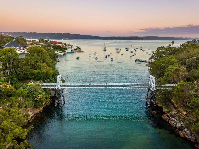Залив петрушки на гавани Сиднея стоковое фото