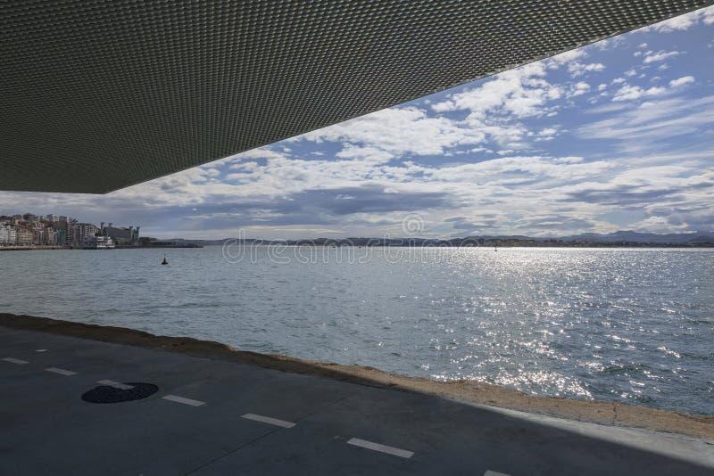 Залив Сантандера стоковое фото