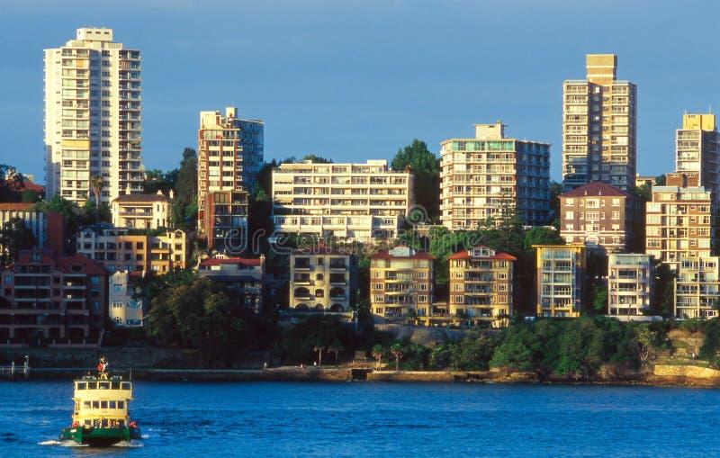 залив Сидней стоковые изображения rf