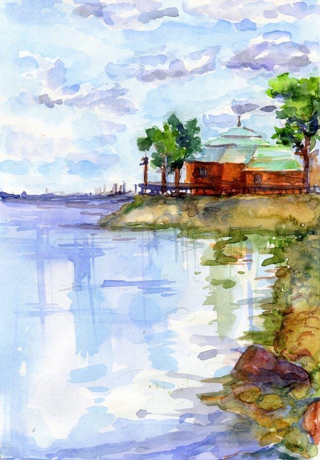 залив Финляндии бесплатная иллюстрация