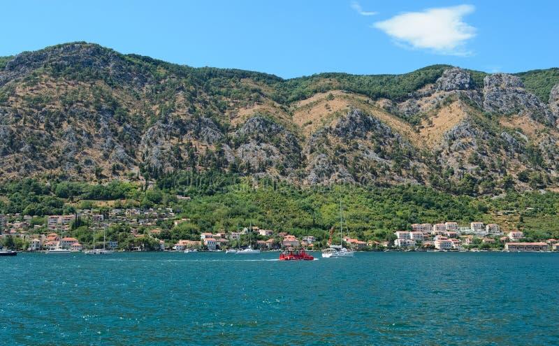 Залив Boka Kotorska стоковая фотография rf