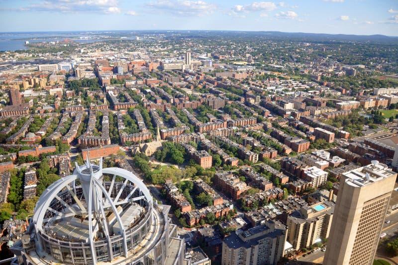 залив boston США квартиры задний стоковые изображения