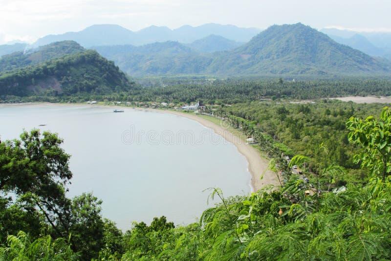 Залив Buyat стоковое изображение