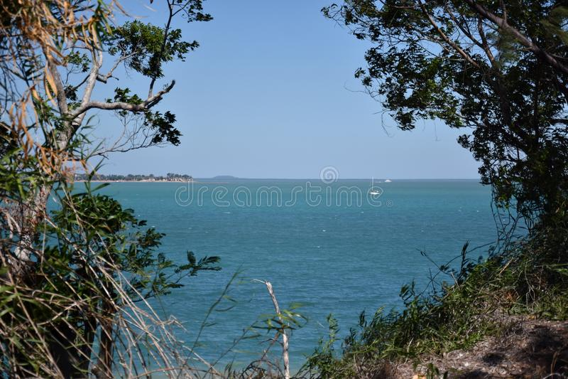 Залив Fannie пригород города Дарвина стоковое изображение