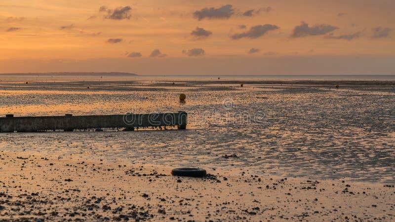 Залив Herne, Кент, Англия, Великобритания стоковое фото