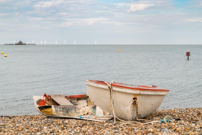 Залив Herne, Кент, Англия, Великобритания стоковые изображения rf