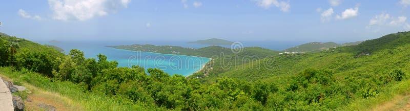 Залив Magen, остров St. Thomas, США Виргинские острова стоковая фотография rf