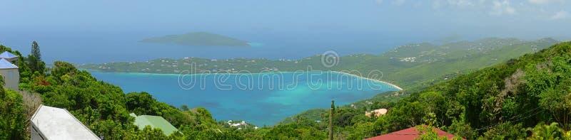 Залив Magen, остров St. Thomas, США Виргинские острова стоковые фото