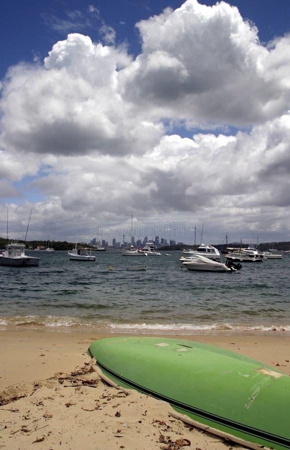 залив s Сидней watson стоковое фото