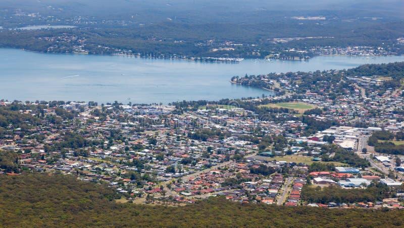 Залив Warners - Ньюкасл Австралия стоковое изображение rf