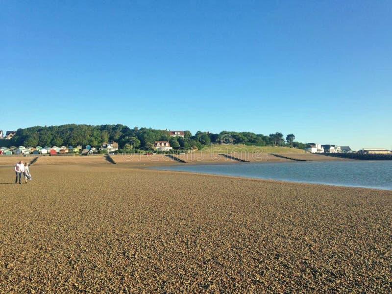 Залив Whitstable стоковая фотография