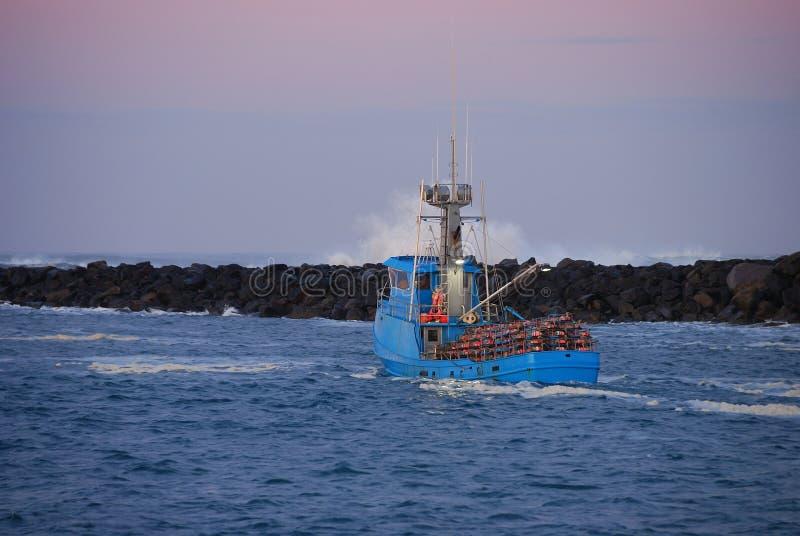 Залив Yaquina стоковое фото