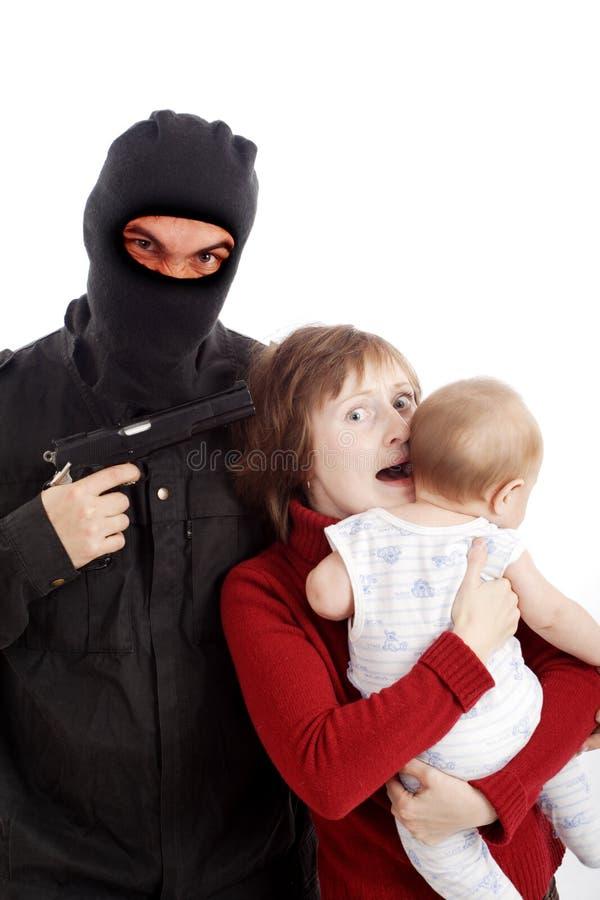 заложник стоковые фото