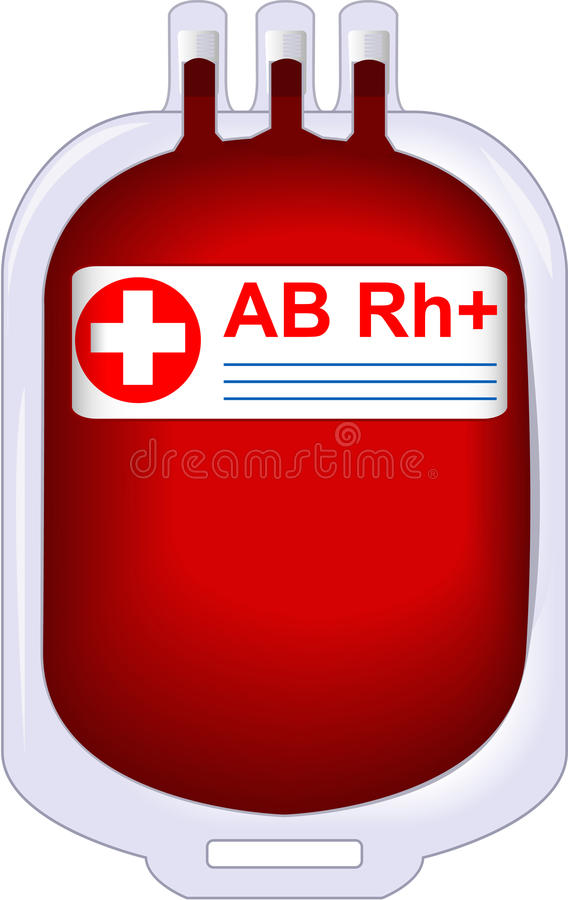 залуживанный даритель крови бесплатная иллюстрация