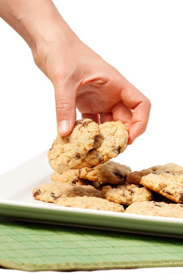 заманчивость печенья стоковое изображение rf