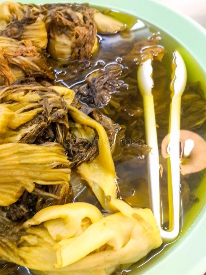 Замаринованная китайская капуста, китайская традиционная еда стоковое фото rf