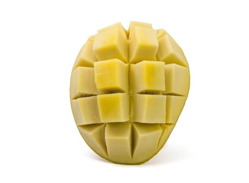 Замаринованное манго на белой предпосылке стоковые фото
