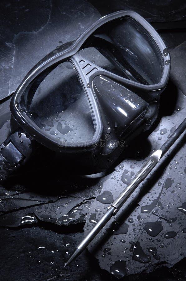 замаскируйте подводную лодку стоковое фото rf