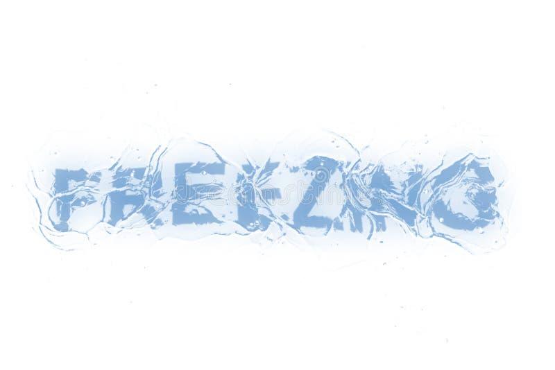 Замерзать (, котор замерли serie) иллюстрация штока