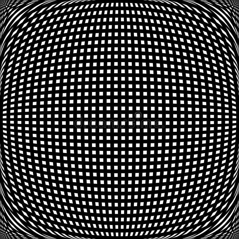 Download Заметная решетка передернутая 3d линий Абстрактная картина сетки Иллюстрация вектора - иллюстрации насчитывающей динамически, деформация: 81810307