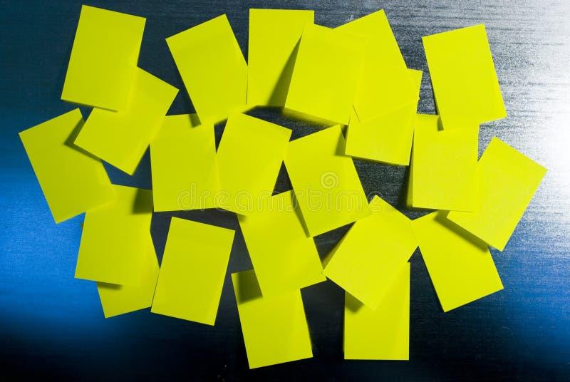 заметьте желтый цвет стоковое фото rf