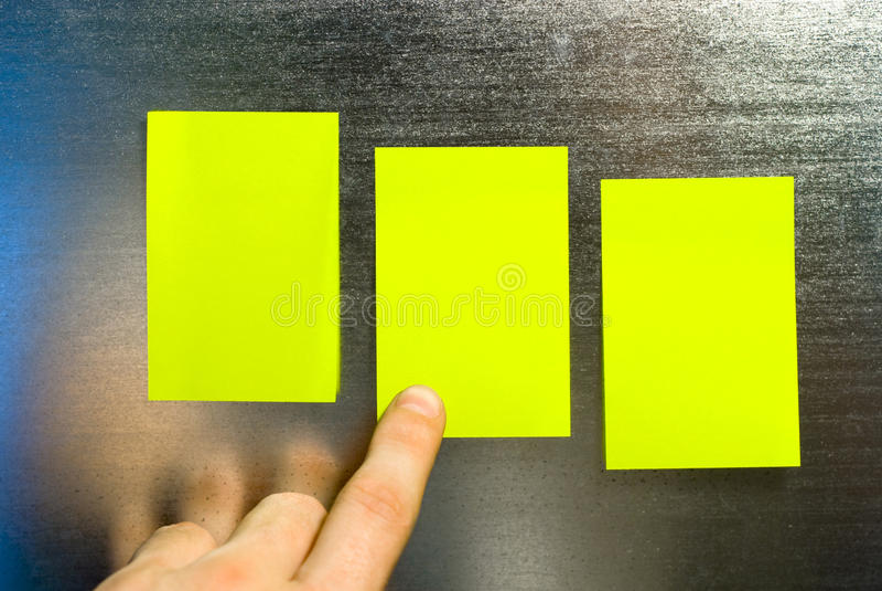 заметьте желтый цвет стоковое изображение