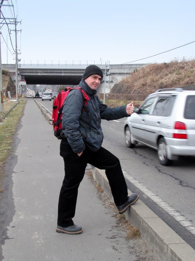 заминка hiker стоковые изображения rf